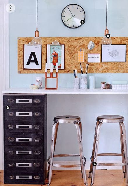 Interior vitamins by House Doctor: DIY home office Idea 2