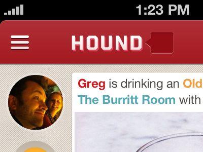 Hound for iPhone - UltraUI