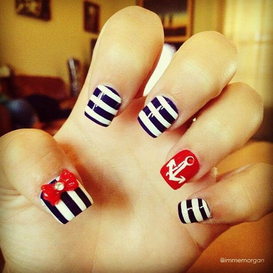 Show us your stripes! (Or stars, or fireworks.) Tag your 4th of July-inspired mani with #SephoraNailspotting for the chance to be featured in our patriotic nail gallery.