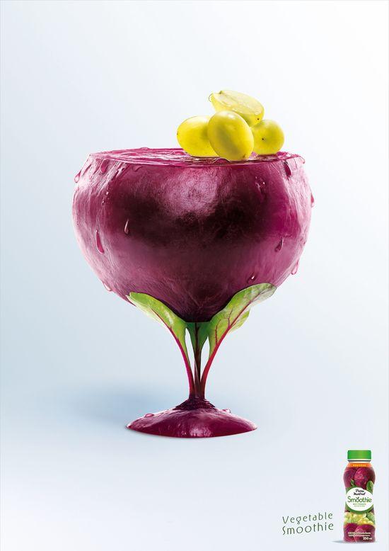 Pierre Martinet: Vegetable smoothie, Beetroot