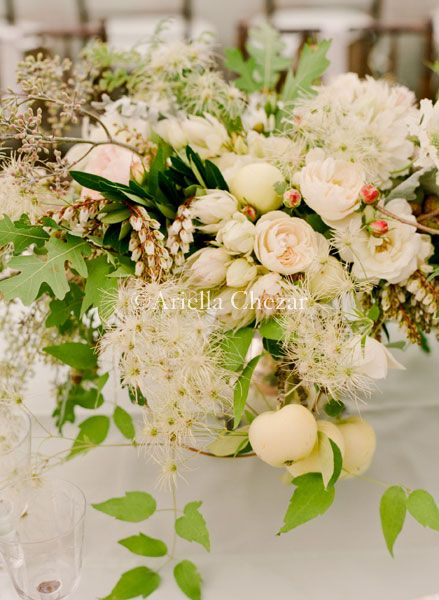 Ariella Chezar floral arrangement.