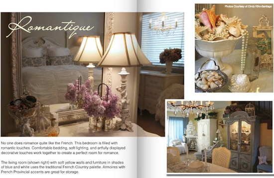 "My Romantic Home: ""My Life with Style"" Magazine"