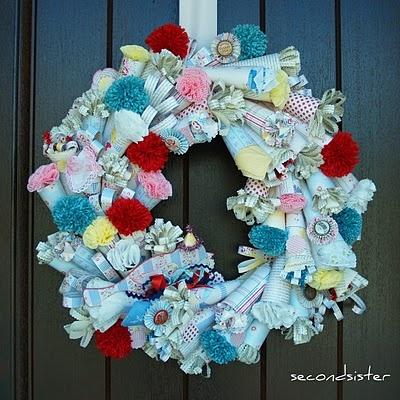 Kitch wreath love...