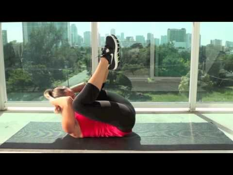 5 minute ab workout - Very painful but effective start to the morning