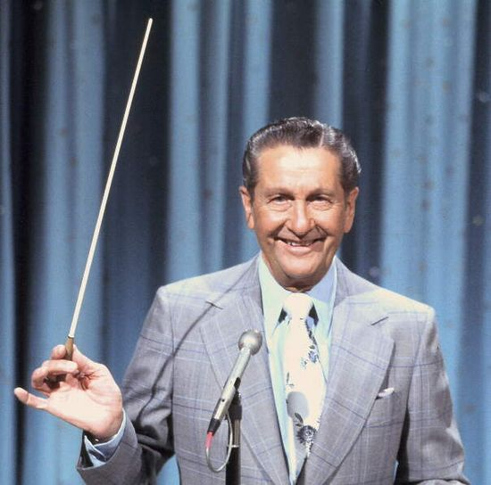 Lawrence Welk..Grandmother watched him every Saturday night..