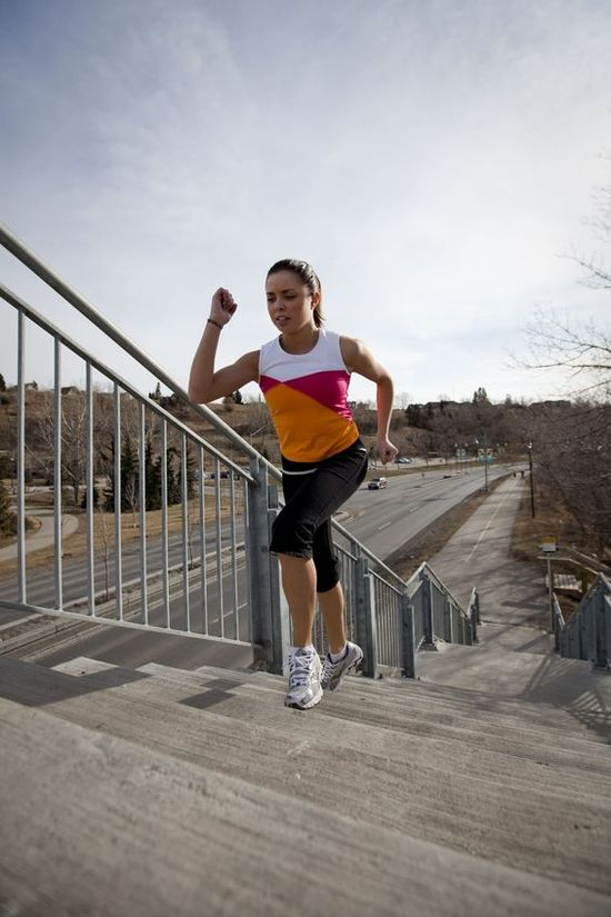 Stairs Challenge - #walking #triceps