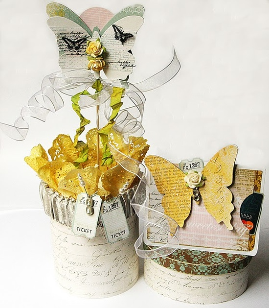just lovely decorated gift boxes