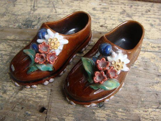 Austrian ceramic shoes