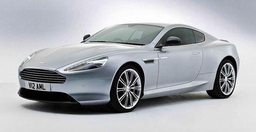 Aston Martin unveils 2013 DB9