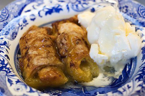 Apple Dumplings.  Oh my heaven!  Yum!!!   Pioneer woman
