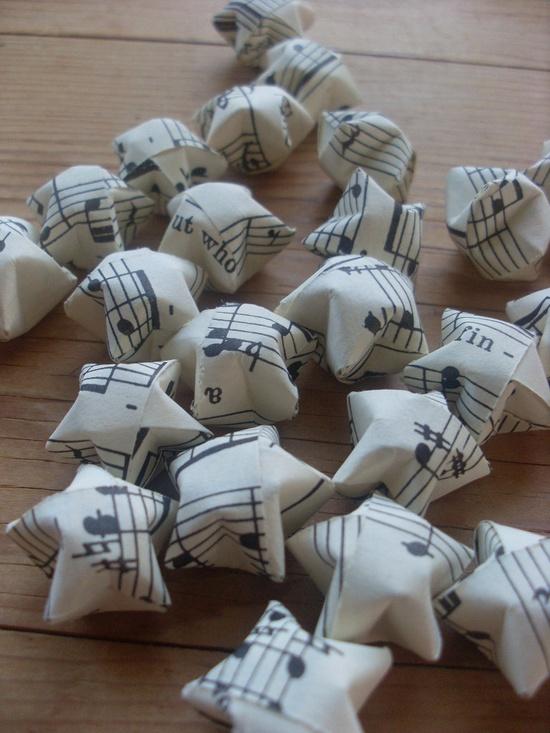 classical origami stars
