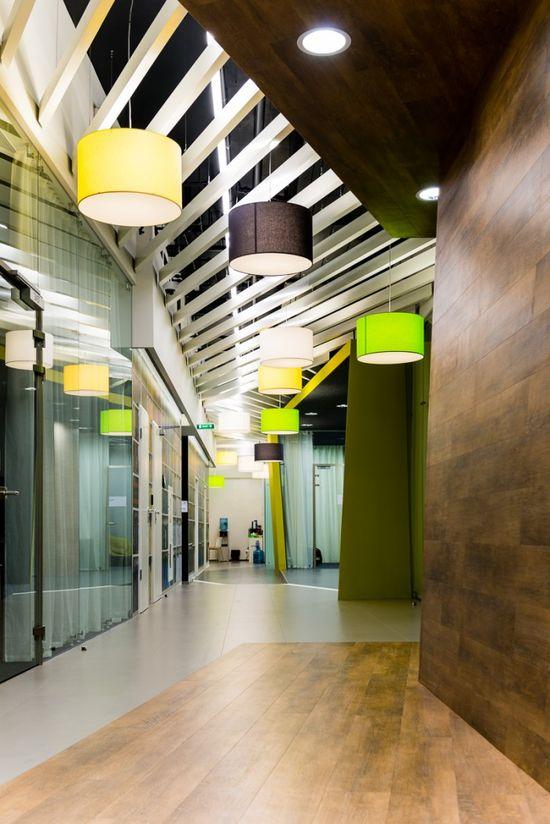 Inside Yandex's St. Petersburg III Offices