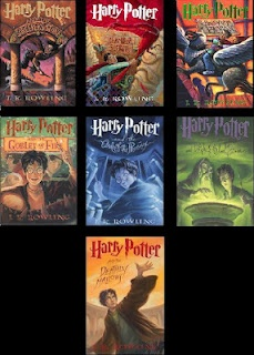 Harry Potter Books by J.K. Rowling. Banned for promoting witchcraft.