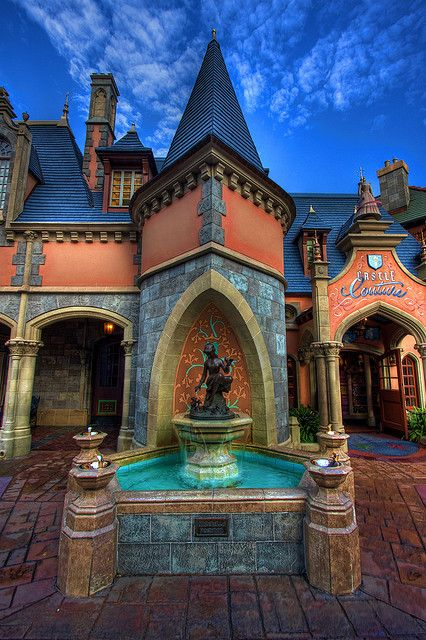 Cinderella fountain, Magic Kingdom