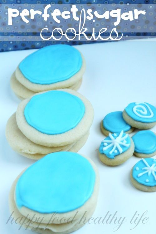 Perfect Sugar Cookies on MyRecipeMagic.com
