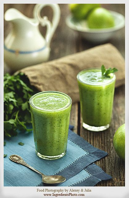 Green Smoothie by Food Photography by Alexey & Julia, via Flickr