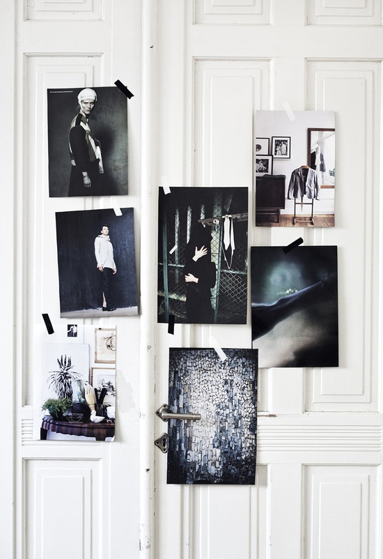 April's inspiration board