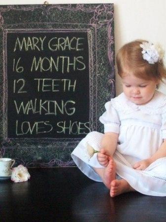Creative baby picture idea