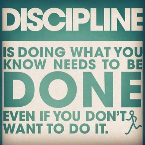 #discipline #fitness #motivation #fitspo