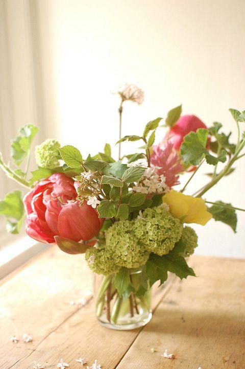 Organic arrangement.