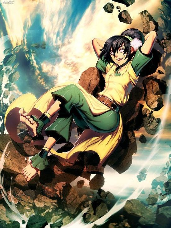 Toph avatar the last air bender