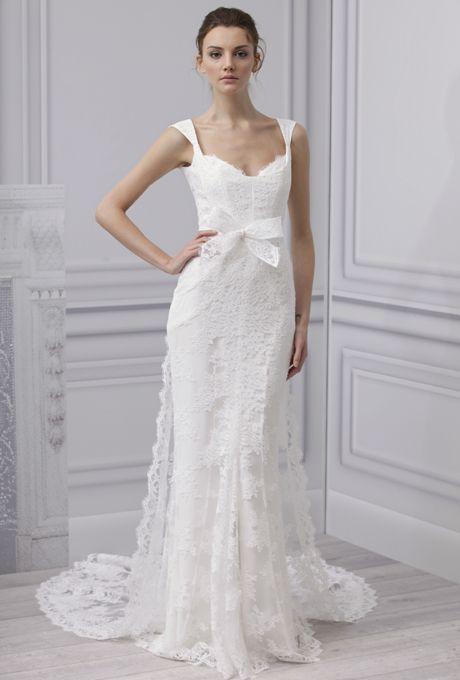 Lace Wedding Dress  Monique Lhuillier 2013 Collection