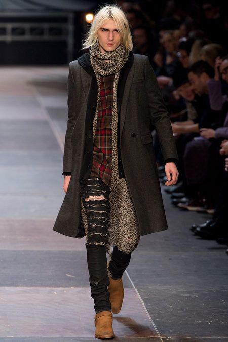 {Saint Laurent- Fall 2013} what Kurt Cobain would be wearing in 2013