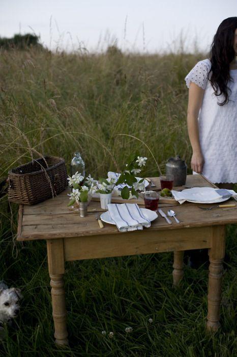outside dinner for two #dinner #food