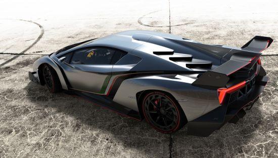 Road-Going Super Sports Car Lamborghini Veneno