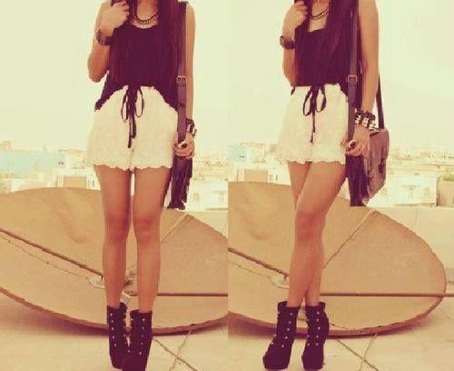 Love the set! #clothes #summer #set #heels