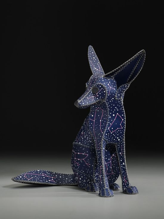 FENNEC FOX (DOG STAR)  by Anne Lemanski