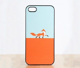 Fox Walk iPhone Case