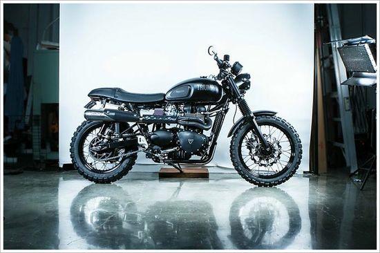 2012 Triumph Scrambler - British AmericanMotors - Pipeburn - Purveyors of Classic Motorcycles, Cafe Racers & Custom motorbikes