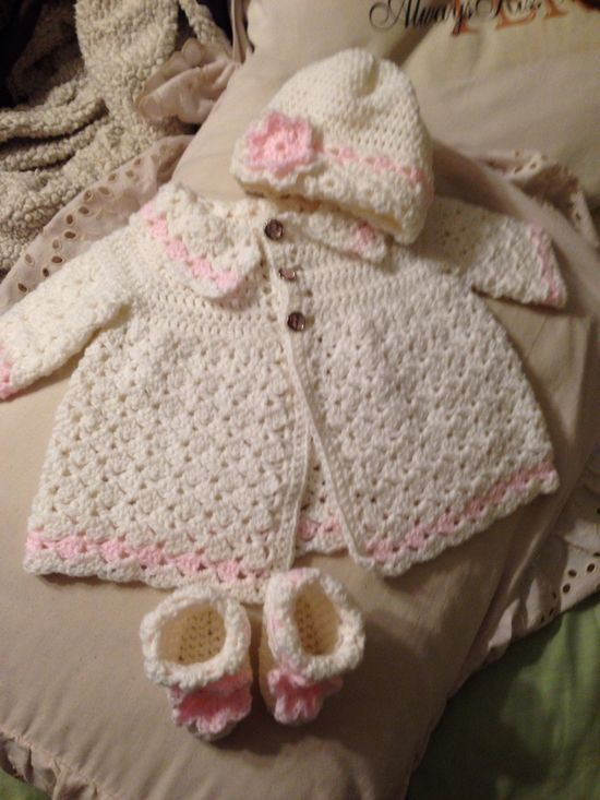 Baby Outfit I Crocheted