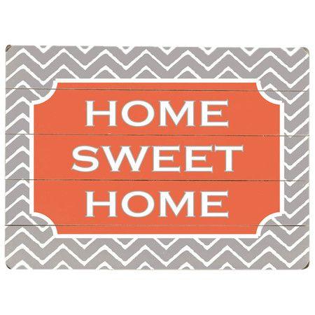 Home Sweet Home Wall Decor.