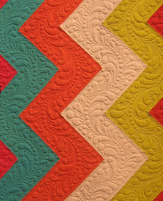 I LOVE this quilting!