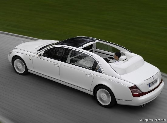 The 15 most expensive cars of 2012 - Maybach Landaulet #8 #cars #luxury