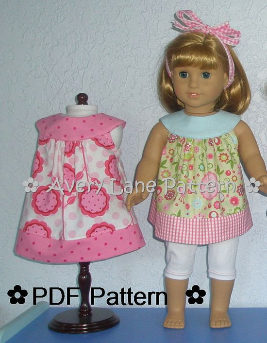 Love this dress pattern with the leggings. Love the print!