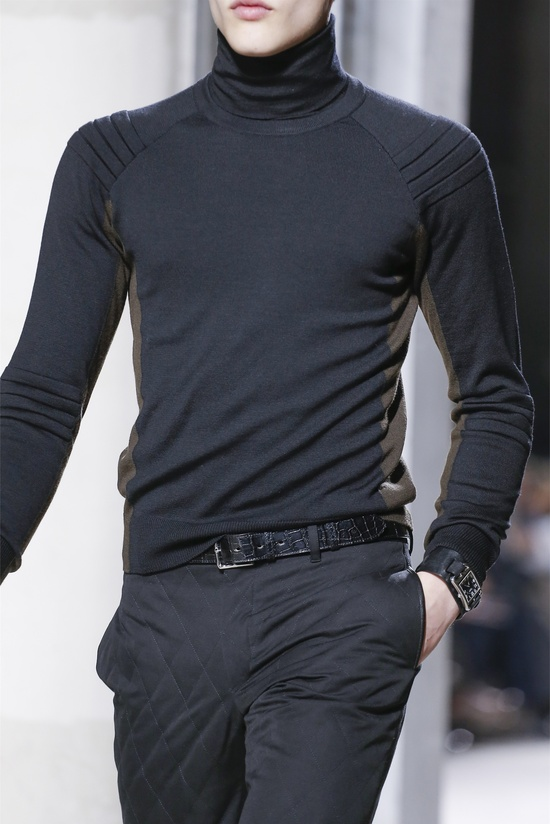 How bout the pants!   nothing beats a turtleneck for casual - Hermès - Men Fashion Fall Winter 2013-14.