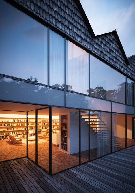 HendeeBorg #House by Peter Guthrie