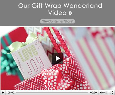 Our Gift Wrap Wonderland Video