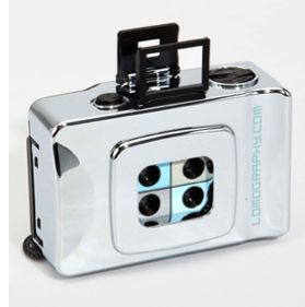 Lomography Silver Action Sampler Camera - on sale for $29.95 at Fred Flare. Real film, people! Remember that?