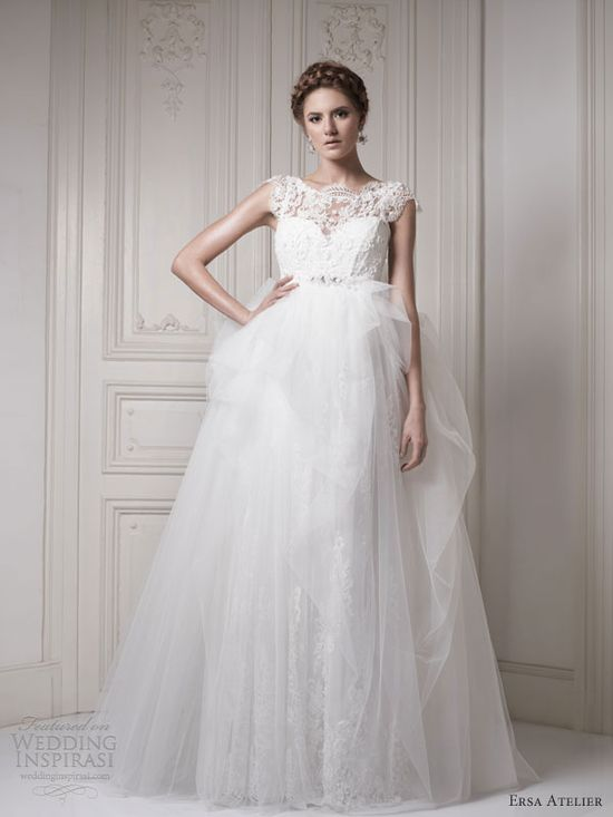 Ersa Atelier Wedding Dresses 2013 — Make Way for the Queen Bridal Collection