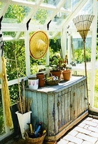 Image detail for -greenhouse potting shed