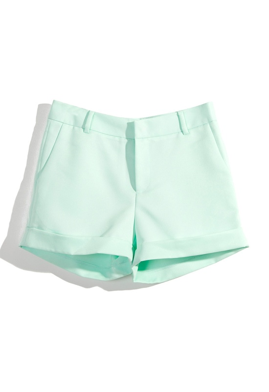 Mint Shorts#Repin By:Pinterest++ for iPad#