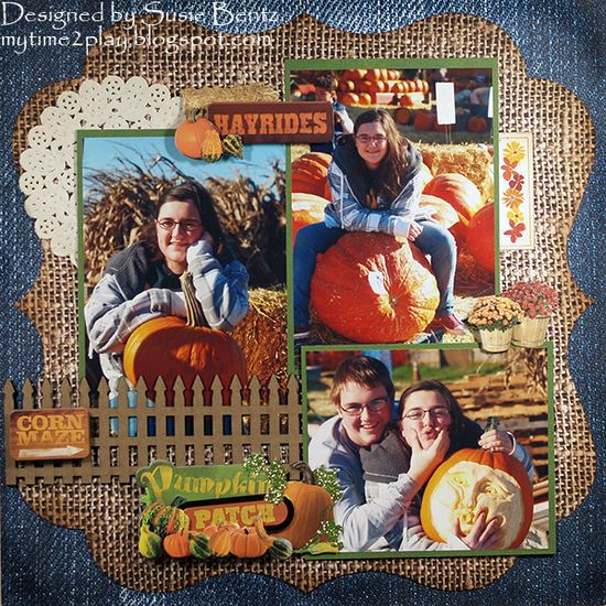 Pumpkin Patch **Paper House** - Scrapbook.com
