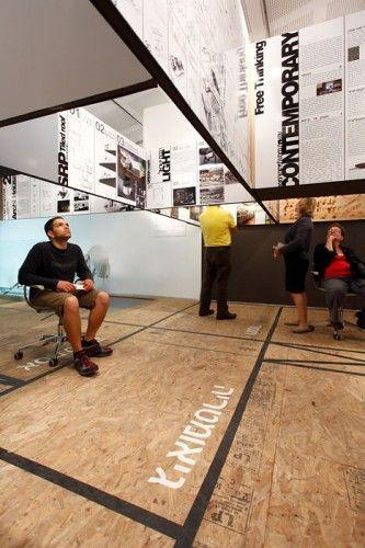 SO100 Exhibition / SO Architecture, Tel Aviv, Israel