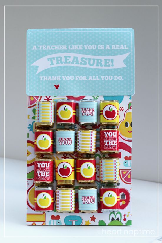 A teacher like you is a real treasure - Teacher Appreciation printable