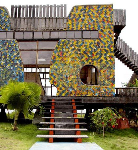 The extreme home design of Casa do Artista