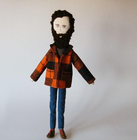 Handmade doll -  Mário